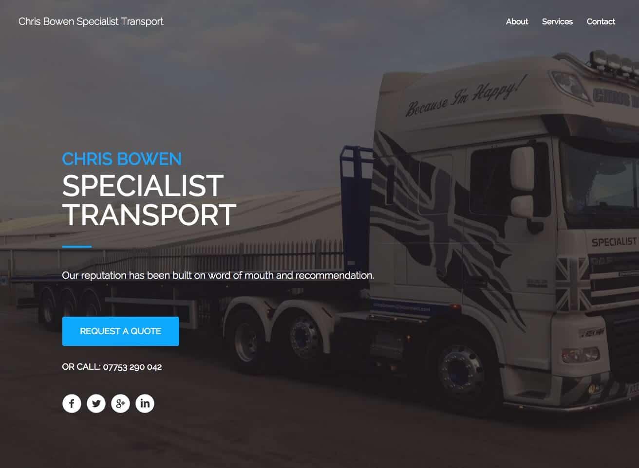 Chris Bowen Transport